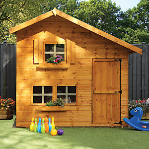 Mercia 8 x 6 ft Timber Double Storey Playhouse