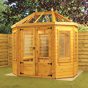 Mercia 8 x 6ft Octagonal Greenhouse