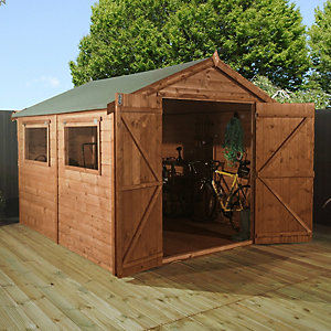 Mercia Premium Shiplap Apex Garden Workshop - 10 x 8 ft