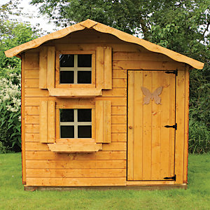 Mercia Timber Double Storey Playhouse - 7 x 5 ft