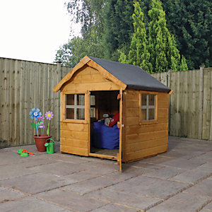 Mercia Timber Snug Playhouse - 4 x 4 ft
