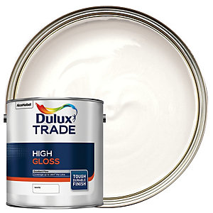 Dulux Trade High Gloss Paint - White 2.5L