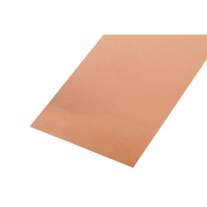 Wickes Metal Sheet Solid Copper 250 x 500mm
