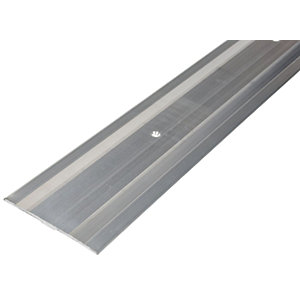 Vitrex Extra Wide Cover Strip Silver - 1.8m