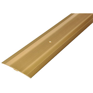 Wickes Flooring Cover Strip Gold - 900mm