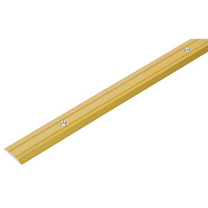 Wickes Vinyl Flooring Edging Strip Gold - 900mm