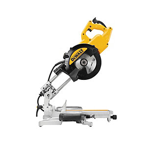 DEWALT DWS774 216mm Corded Sliding Mitre Saw - 1400W