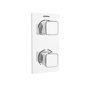 Bristan Cobalt Recessed Shower Valve - Chrome