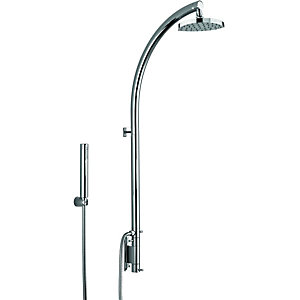 Bristan Kurve Thermostatic Shower Mixer & Diverter - Chrome