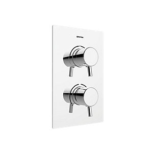 Bristan Prism Recessed Shower Valve with Diverter - Chrome