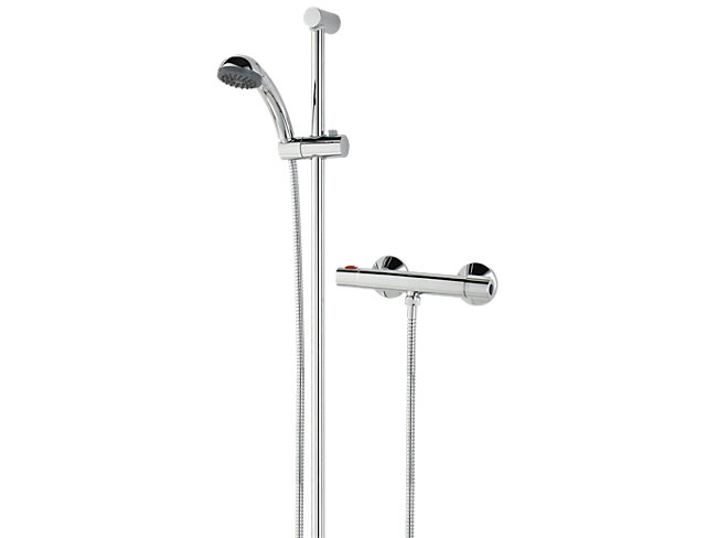 Bristan Mixer Shower & Adjustable Riser Kit