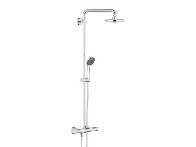 Grohe Vitalio Thermostatic Mixer Shower - Chrome