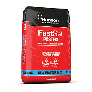 Hanson Fast Set Post Fix Powder Maxi Pack - 20kg