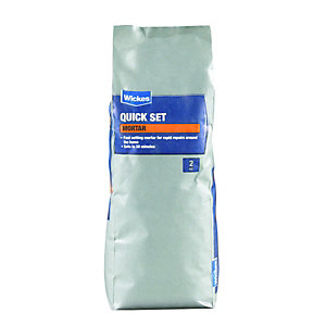 Wickes Quick Set Mortar - 2kg