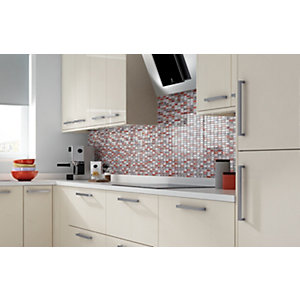 House of Mosaics Bangkok Linear Mosaic Tile Sheet - 300 x 300 mm
