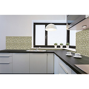 House of Mosaics Cairns Mosaic Tile Sheet - 300 x 300 mm