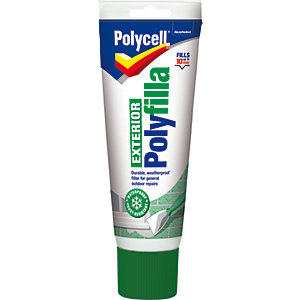 Polycell Multi Purpose Ready Mixed Exterior Polyfilla - 330g