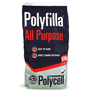 Polycell Polyfilla All Purpose Trade Powder Filler - 10kg