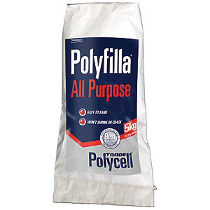 Polycell Polyfilla All Purpose Trade Powder Filler - 5kg