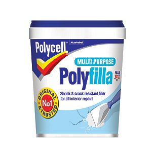 Polycell Polyfilla Multi Purpose Ready Mixed Filler - 1kg
