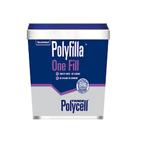 Polycell Trade Polyfilla Ready Mixed One Fill Filler - 1L
