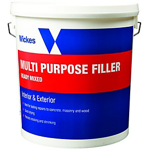 Wickes All Purpose Ready Mixed Filler - 10kg