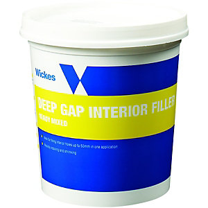 Wickes Deep Gap Interior Filler - 1L
