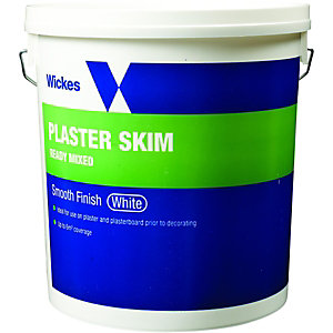 Wickes Ready Mixed Plaster Skim - White 10kg