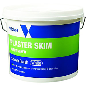Wickes Ready Mixed Plaster Skim - White 5kg