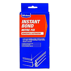 Wickes Instant Bond Mitre Fix - 50g