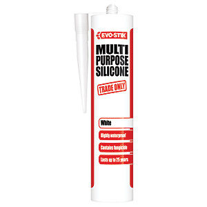 Evo-Stik Trade Only Multi-Purpose Silicone - White 280ml