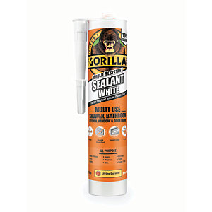 Gorilla Mould Resistant Sealant - White 295ml
