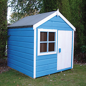 Shire Playhut Wooden Playhouse 4 x 4 ft