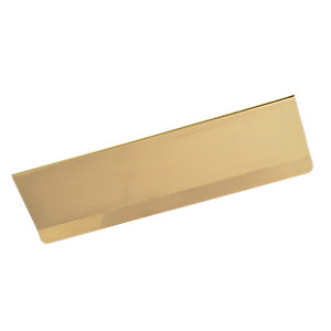 Wickes Victorian Letter Plate Tidy - Brass