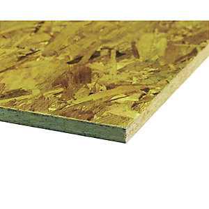 Wickes General Purpose OSB 3 Board - 9mm X 1200mm X 2400mm