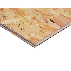 Wickes TG4 Roof & Flooring OSB 3 Board - 18mm x 600mm x 2400mm