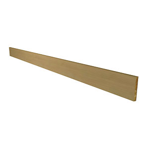 Wickes Oakmont Oak Effect Continuous Plinth - 2.6m