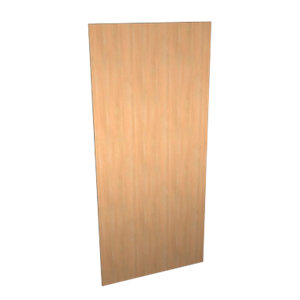 Wickes Oakmont Slab Appliance Door (A) - 600 x 1319mm