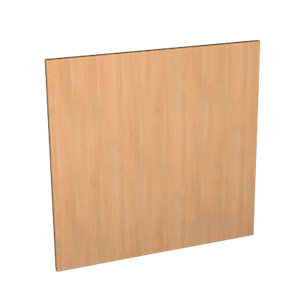Wickes Oakmont Slab Appliance Door (C) - 600 x 584mm