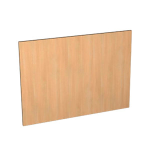 Wickes Oakmont Slab Appliance Door (D) - 600 x 437mm