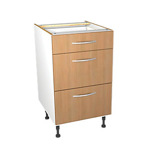 Wickes Oakmont Slab Drawer Unit - 500mm