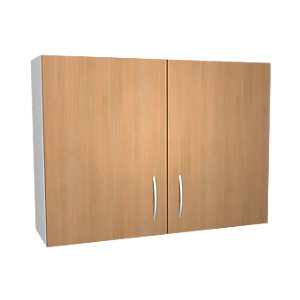 Wickes Oakmont Slab Wall Unit - 1000mm