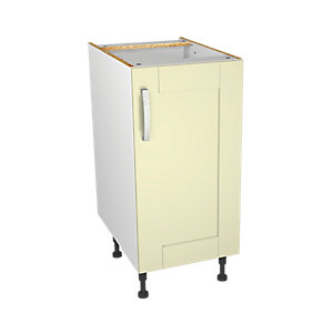 Wickes Ohio Cream Shaker Base Unit - 400mm
