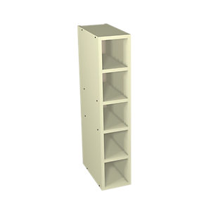 Wickes Ohio Cream Shaker Wine Rack - 150mm