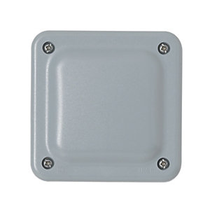 MK IP66 Exterior Junction Box - Grey