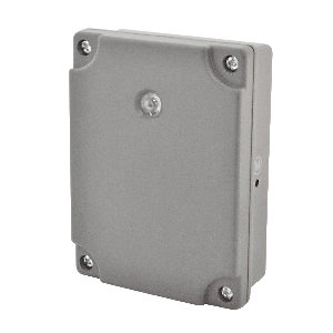 Masterplug Weatherproof Dusk to Dawn Timer Switch - Grey