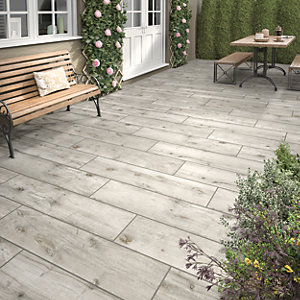 Sandwood Ash Outdoor Porcelain Tile 1200 X 300mm