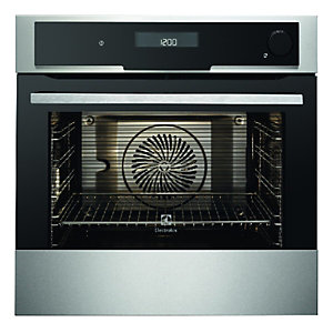 Electrolux Touch Control Multifunction Combi Stainless Steel Steam Oven EOB8551AAX