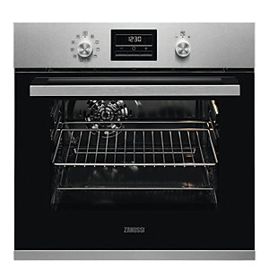 Zanussi Pyrolytic Single Oven ZZP35901XK