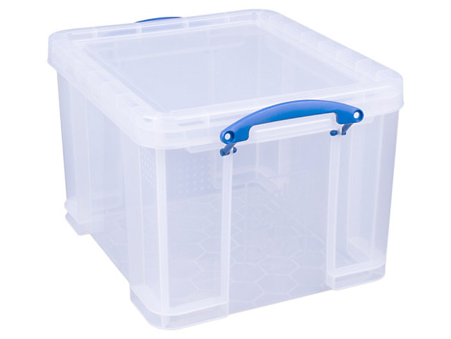 Really Useful Clear Box 35L